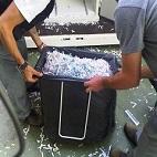 stoccaggio e smaltimento residui della distruzione